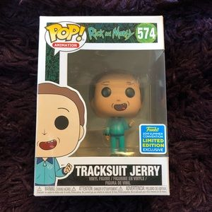 💥FUNKO Pop! Rick And Morty-Tracksuit Jerry #574